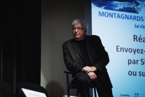 Guy Chaumereuil, président de Montanea, anime les journées Montagnards et Marins prennent la parole - 25 et 26 novembre 2015