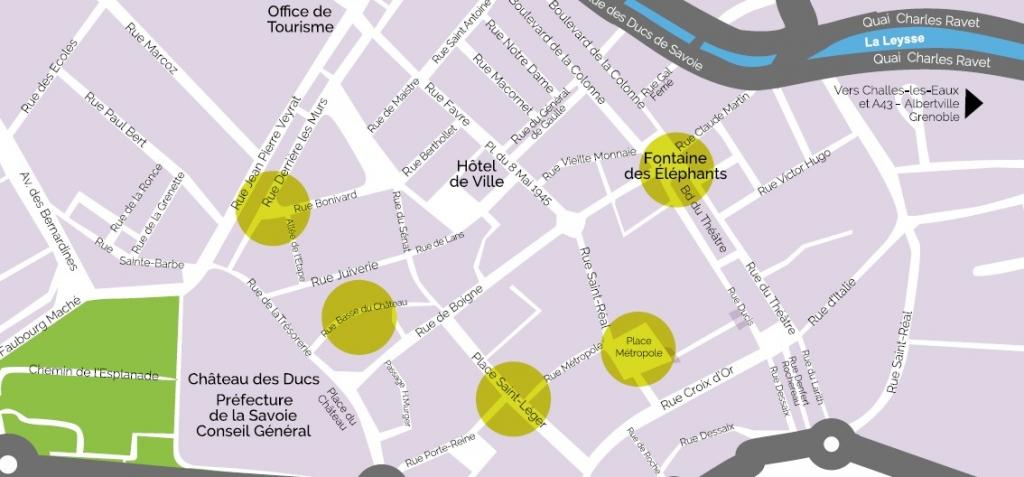 carte 5 lieux