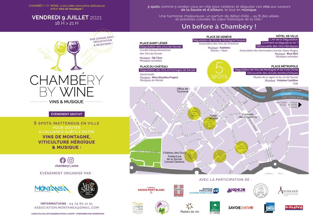 Chambéry by wine